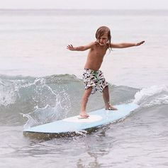 """""""What do you do to have fun?"""" Captain: """"Ummmm surf!"""""""