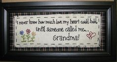 2083GR-Heart could hold Grandma   Dimensions: 12