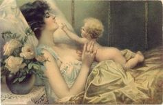 Victorian Era Mother and Baby | Community Post: 25 Historical Images That Normalize Breastfeeding