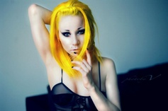 Bright yellow hair #bright #hair