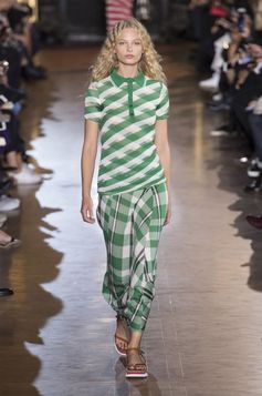Stella McCartney collared top, New York Fashion Week, Spring 2016