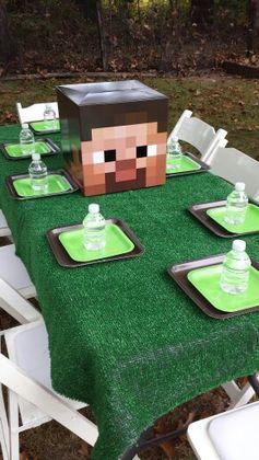 Minecraft birthday party!