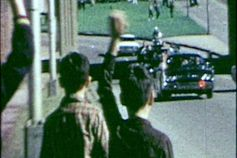 This is the limousine carrying JFK to the hospital.  Look at the people behind the car, as we study the angles and people where the alleged shots came from.