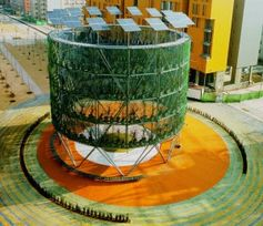 12 edificios ecológicos del mundo. #arquitectura #bioconstrucción #madera