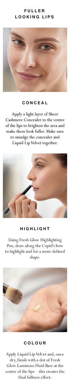 Make your lips appear fuller in three easy steps. Shop all products now at Burberry.com