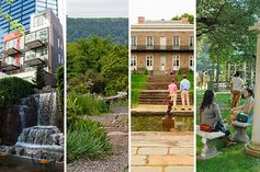 Mapping 30 of New York City's best secret gardens.