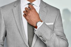 Effortlessly coordinated to make an immaculate impression