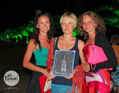 Thanks to these nice ladies from Ukraine for sharing their love of Batumi :) <3