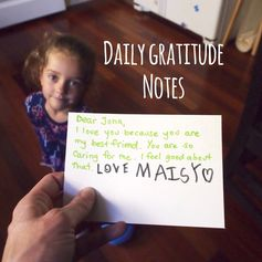 Teach Thoughtfulness Through Daily Gratitude Notes This Month: It may lead  to happiness