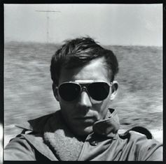 Hunter S. Thompson, self-portrait, c. 1960 (via Flavorwire) Ah, gonzo journalism