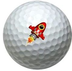 Rocketship Golf Balls If you still need a little more distance off the Tee, try one of these balls, you never know till you try!