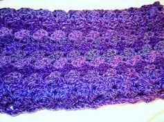 Crochet a scarf pattern