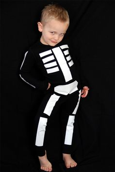 Réalisez ce costume de squelette pour Halloween avec notre tutoriel