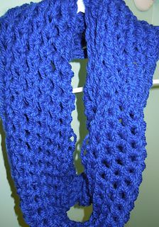 Super Simple crochet infinity scarf pattern