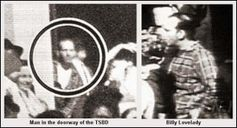 This picture for me, clarified where Lee Harvey Oswald the day 22 November 1963 as Loveday holds his shirt differently to when Lee Harvey Oswald was arrested by the Police and brought into the Police Station in Dallas.