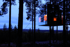 Mirrorcube by Treehotel , Sweden