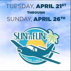 #Lazydays will be at the Annual Sun 'n Fun International Fly-In & Expo this week with several #RVs on display! Click here for full details on where to find us: http://goo.gl/XYhHU8