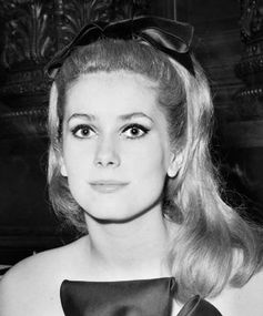Best ponytails of all time: Catherine Deneuve