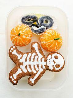 Un super Bento goûter d'Halloween à emporter à l'école !