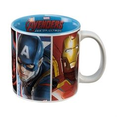Marvel Avengers 2: Age Of Ultron Movie 20 oz. Ceramic Mug #VandorLLC #Avengers #AgeofUltron
