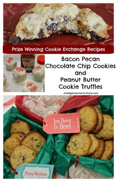 Prize Winning Cookie Exchange Recipes & $20 Paypal Cash Giveaway #cookieseason | Intelligent Domestications