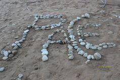 cammini per spiaggia e trovi...