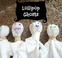 Lollipop Ghosts - a Halloween-time classic