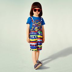 Painterly patterns embody a season of colour and fun!    Shop #StellaKids at #StellaMcCartney.com #StellaMcCartneyKids