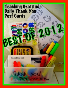 Best of 2012 - From 21 Days of Gratitude to 365 - Making Gratitude a Daily Practice