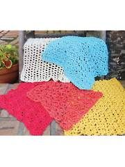 Super Simple Dishcloths Crochet Pattern - Electronic Download