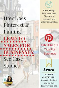 How Does Pinterest Lead to Sales