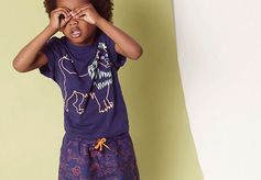 Kids go exploring in cat print separates made from organic cotton in the #StellaKids X @Smallable_Store capsule collection!  Discover on: #StellaMcCartney.com #StellaMcCartneyKids