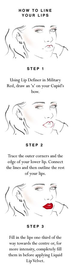 How to make your Liquid Lip Velvet look last, in three quick steps using Lip Definer in Military Red. Shop all products now at Burberry.com