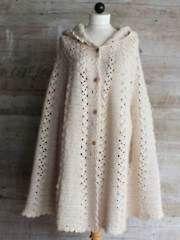 Long Hooded Cape Crochet Pattern - Electronic Download