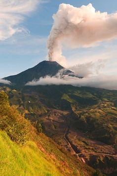 Vulcano Tungurahua - Ecuador