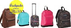 Amazon: Backpacks as low as $8.23 + FREE Shipping Options!