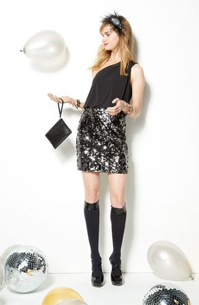 Winter Formal: Way-In Dress & Accessories #BPNordstrom #Holiday