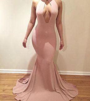Pink Prom Dress,Mermaid Prom Dress - @loriiann
