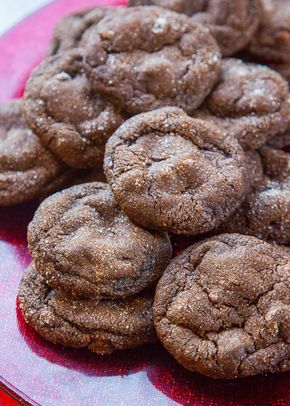 Chocolate Gingerbread Cookies Recipe | SimplyRecipes.com