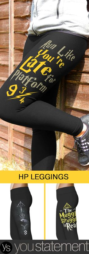 The Muggle Struggle Is Real Leggings - Love Harry Potter? Check our our HP Inspired Leggings Collection!
