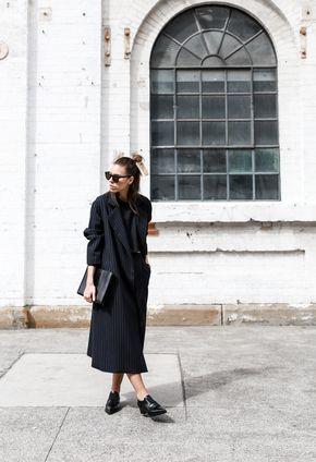 modern legacy, street style, pinstripe, coat, fashion week, fashion blogger (1 of 1)