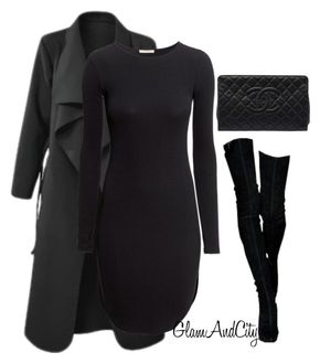"""Untitled #88 - """"Untitled #88"""" by glamandcity ❤ liked on Polyvore featuring H&M and Chanel"""