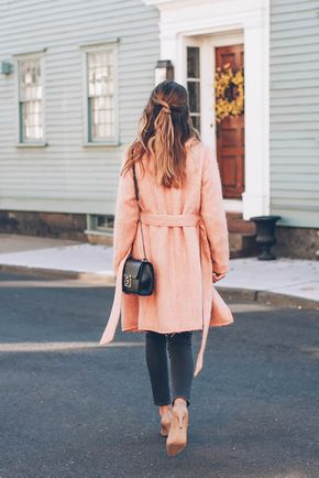 Chic of the Week: Jessica's Pretty Pink Coat - ✦⊱@samanthaf8915⊰✦