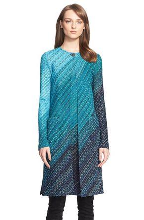 Women's St. John Collection Novelty Degrade Knit Topper -