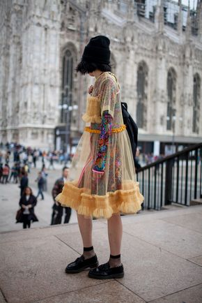 They Are Wearing: Milan Fashion Week Spring 2016 - The best of street style during Milan Fashion Week 2016.