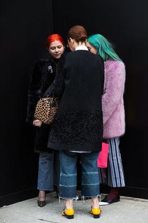 The Sartorialist / On the Street…West Twenty-Second St., New York // #Fashion, #FashionBlog, #FashionBlogger, #Ootd, #OutfitOfTheDay, #StreetStyle, #Style