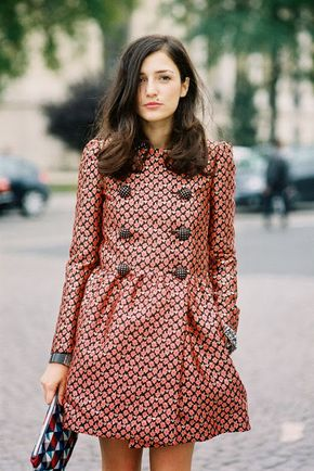 Paris Fashion Week SS 2014....Eleonora - a hair swoon