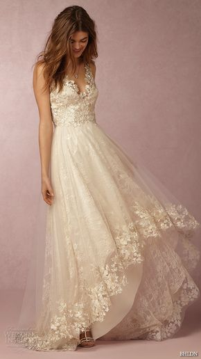 BHLDN Spring 2016 Collection — Featuring Exclusive Marchesa Wedding Dresses - Www.gownclean.co.uk