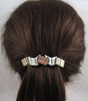 Books French Barrette 80mm- Book Lover Gift- Hair Accessories- Hair Clips- Teacher Gift - Libros de pies a cabeza