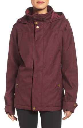 Jet Set Waterproof Jacket - From the slopes to the streets, this breathable waterproof Burton jacket is cute and cozy.